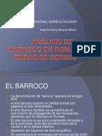 Análisis del Barroco en roma