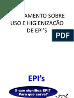 Uso, Higienização e Inspeção de EPI'S