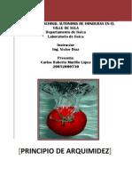 Principio de Arquímedes 200