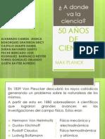 50 AÑOS DE CIENCIA (1)