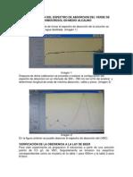 Determinacion Del Espectro de Absorcion Del Verde de Bromocresol en Medio Alcalino