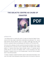 The Galactic Centre as Cause of Disaster