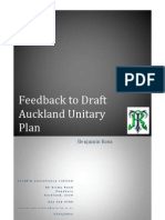 The Draft Auckland Unitary Plan Feedback Submission PDF Mode
