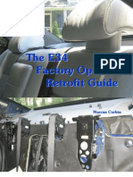 80785425 BMW E34 Factory Options Retrofit Guide