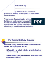 002 SSAD Feasibility Study Software Engineering