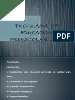 PROGRAMA  DE EDUCACIÒN PREESCOLAR  2004