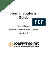 OrionV7 Admin Guide