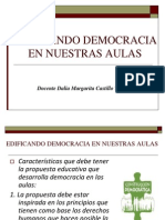 Edificando Democracia en Nuestras Aulas