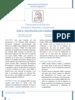Guía 1 SDI 115 2013