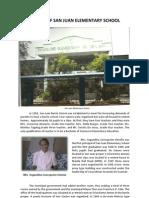 History of San Juan Elementary School