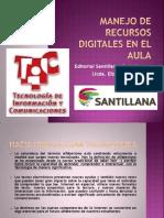 Manejo de Recursos Digitales en El Aula Julio