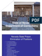 State of Nevada Department of Corrections