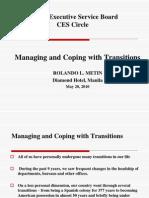 Managing Transitions Ppt Metin
