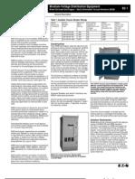 MV Metal Enclosed Switchgear - MEB TD