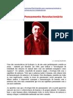 murray bookchin__ecologia e pensamento revolucionário