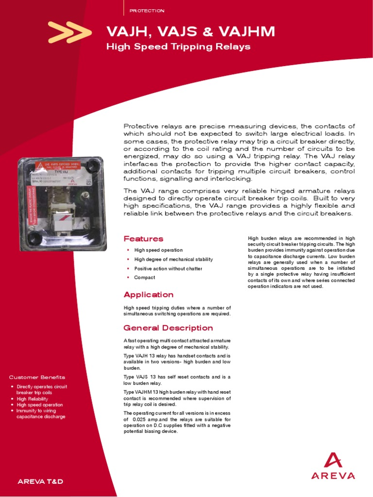 Relay Referral Guide Alstom - English electric relay application guide
