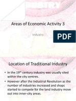Areas of Economic Activity 3