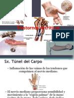 Trastornos artríticos