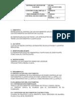 Procedimiento Para Control de Documentos