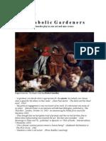 "Drama existential multimedia Milos Bjelic ""The diabolic gardeners"""
