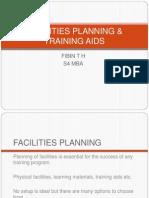 Facilities Planning & Training Aids