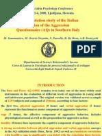 AQ Italian Validation - Sommantico Et Al.