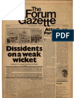 The Forum Gazette Vol. 1 No. 1 June 1-15, 1986