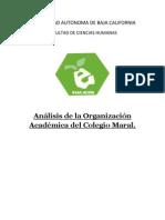 Org. Academica Mi Trabajo Final.