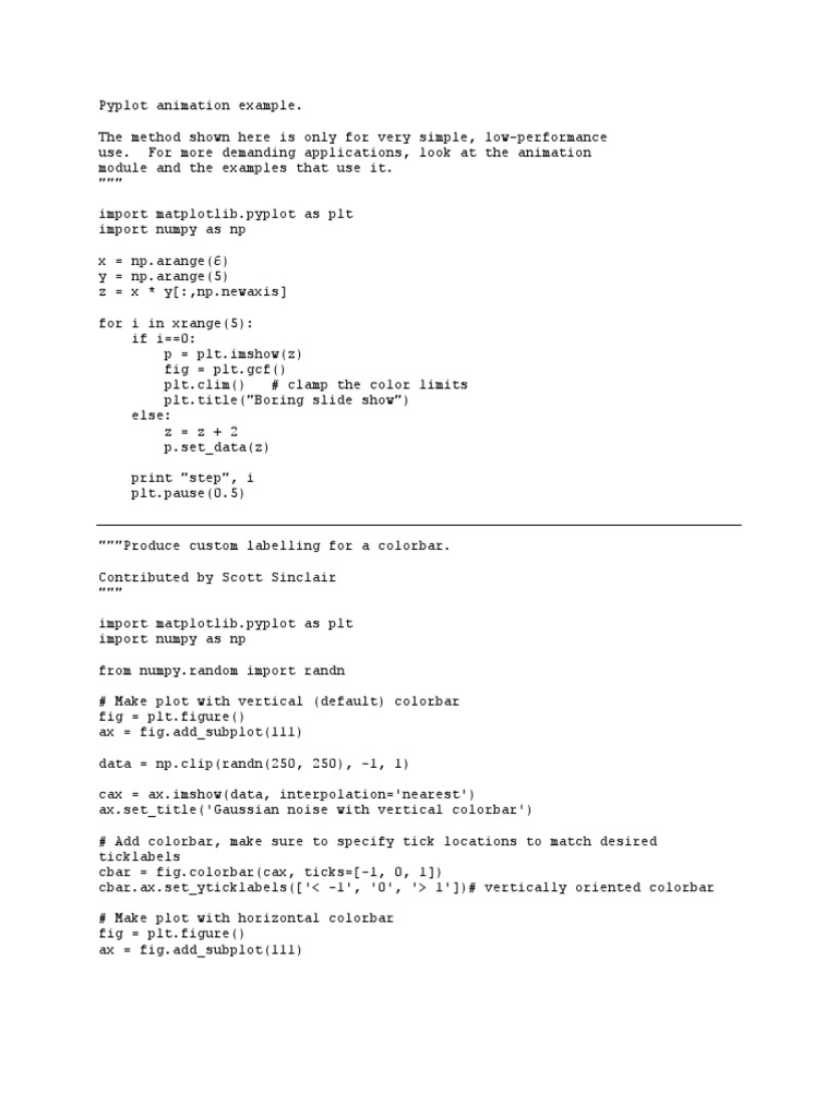 Matlab Examples (1) | Contour Line | Pixel