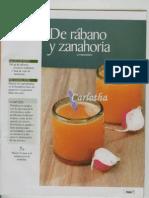 JUGO Zanahoria y Rabano