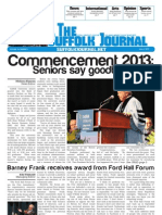 The Suffolk Journal- Orientation 2013