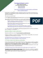 General Behavior Analysis Online Information