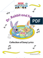 Dr Rabbit and Friends Collection of Song Lyrics(1)
