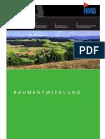 Folder Raumentwicklung HMQ AG