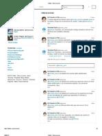 Twitter _ Interacciones Paris 13.05.30