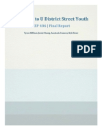 cep 462 - outreach to u district street youth