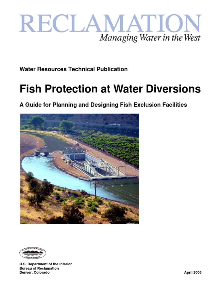 02  Fish Protection at Water Diversions | National