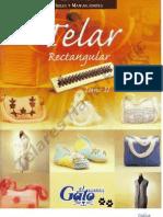 Ideas y Manualidades TELAR rectángular Tomo II