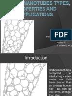 Nano Presentation Tinu-carbon Nano Tubes