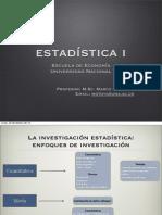 Clase I_La investigación estadística
