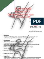 Del Roco a La Roca 2013 Iniciacion