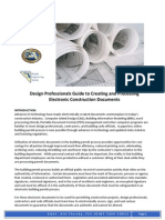 Design Professionals Guide to Creating and Processing Electronic Documents v1