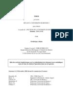 Ablain F. Rôle des activités lombriciennes sur la redistribution des éléments traces métalliques (écologie pollution lombric)
