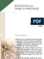 Intoxicatia cu Piretrine si Piretroizi