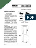 HCF4017B Data Sheet