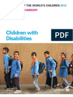 UNICEF State of the Worlds Children _Focus Children With Disabilities_SOWC-Rapporten 2013