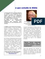 UN CIENTÍFICO QUE ESTUDIA LA BIBLIA