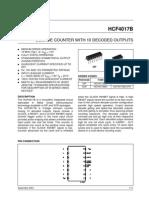 Hcf4017 Data Sheet