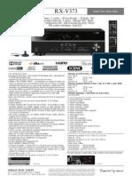 Ampli Yamaha Rx-V373 Fiche