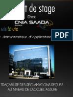 Rapport Cnia Saada